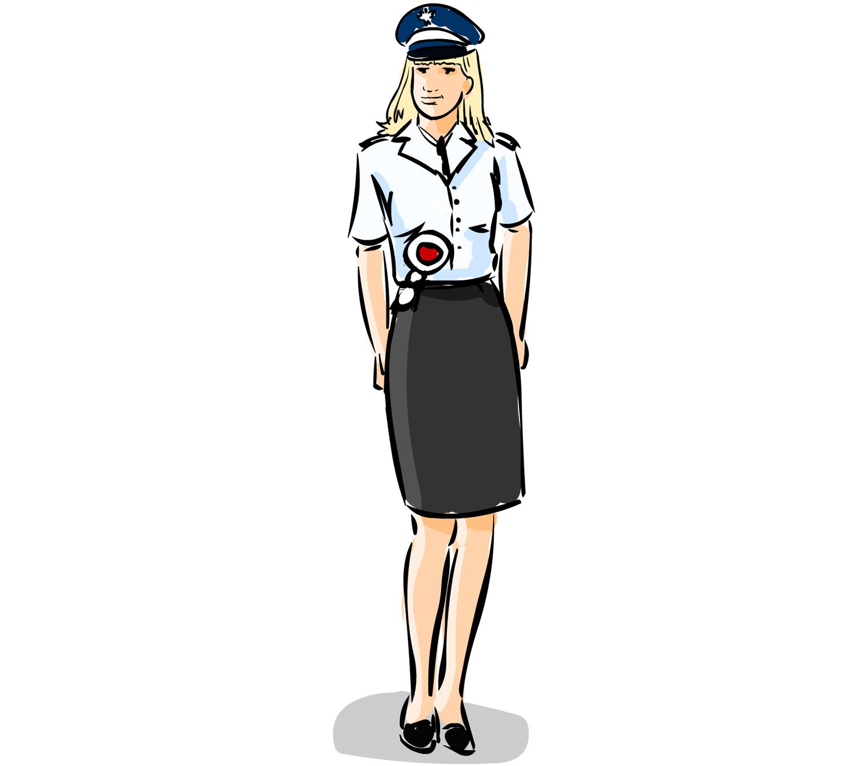 Znalezione obrazy dla zapytania policjantka gif